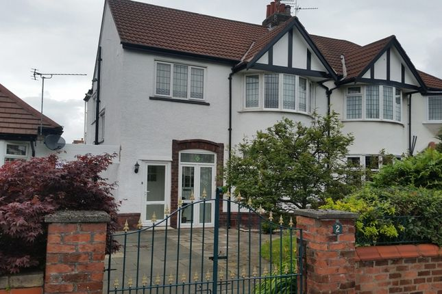 Thumbnail Flat to rent in Rectory Road, Southport, Merseyside