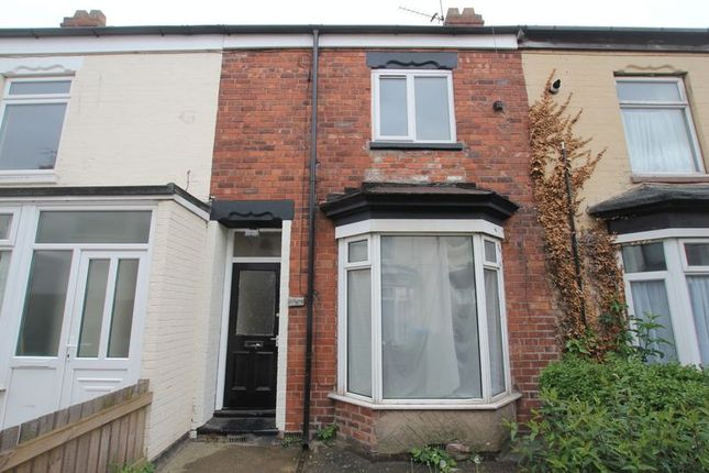 Thumbnail Terraced house to rent in Severn Villas, Rosmead Street, Hull