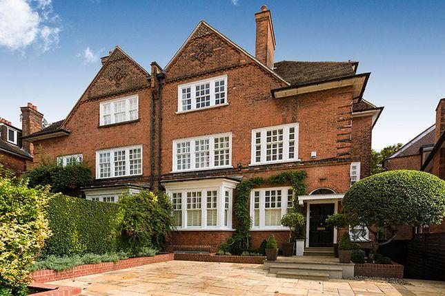 Thumbnail Semi-detached house for sale in Hollycroft Avenue, Hampstead, London