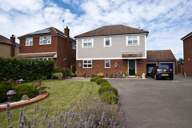 Thumbnail Detached house for sale in Rectory Road, Little Oakley, Harwich