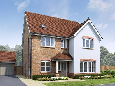 Thumbnail Detached house for sale in The Penarth, Plot 18, Off Old Hall Road, Hawarden, Flintshire