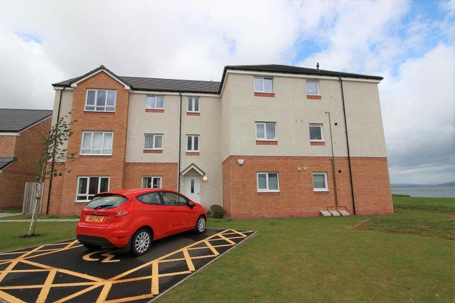 Thumbnail 2 bedroom flat for sale in Crunes Way, Greenock