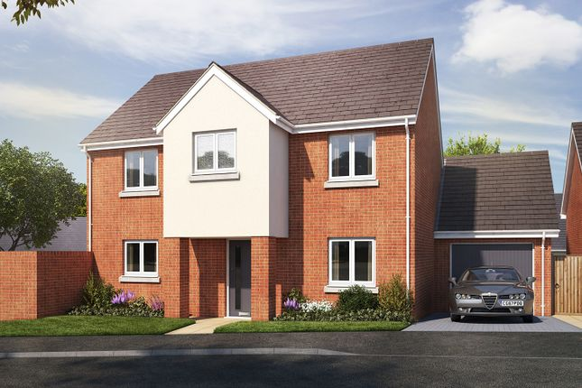 "Thumbnail Detached house for sale in ""The Portland"" at Vicarage Hill, Kingsteignton, Newton Abbot"