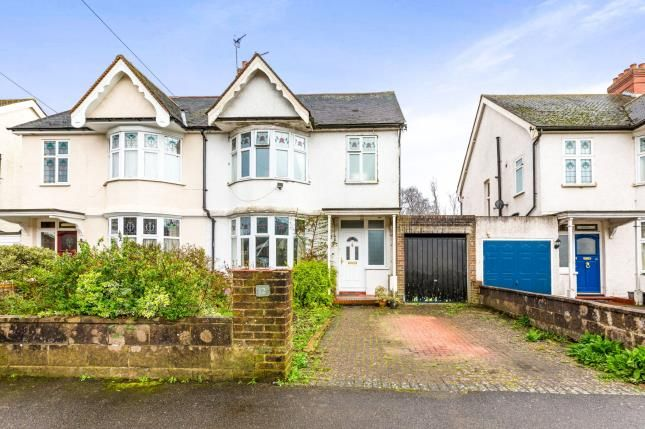 Thumbnail Semi-detached house for sale in Ringwood Avenue, Redhill, Surrey