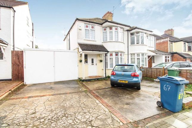 Thumbnail Semi-detached house to rent in Drummond Drive, Stanmore