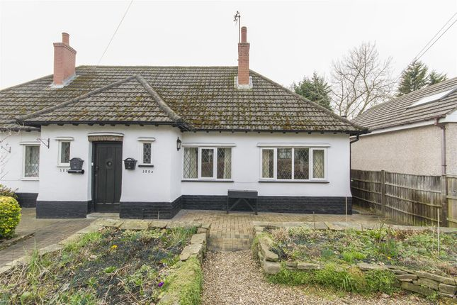 Thumbnail Semi-detached bungalow for sale in Old Road, Brampton, Chesterfield