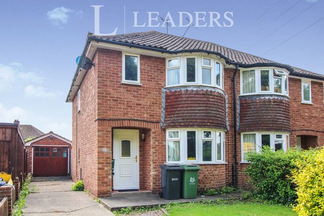 Thumbnail Semi-detached house to rent in Oldbury Road, St Johns, Worcester