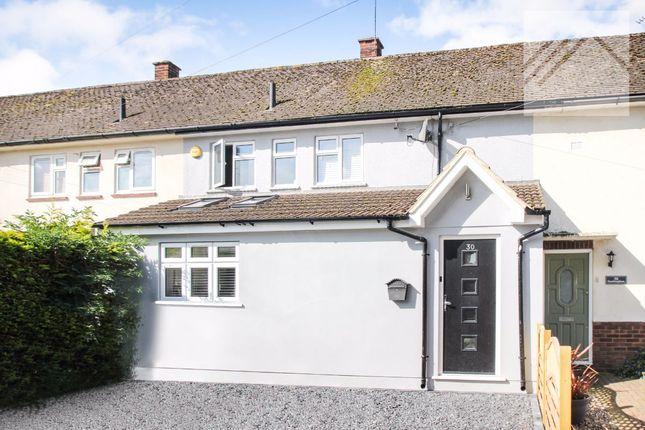Thumbnail Terraced house for sale in Sandringham Road, Pilgrims Hatch, Brentwood