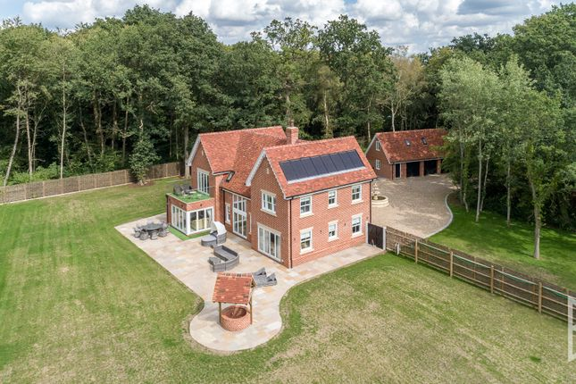 Thumbnail Detached house for sale in Stackwood Road, Polstead Heath, Suffolk