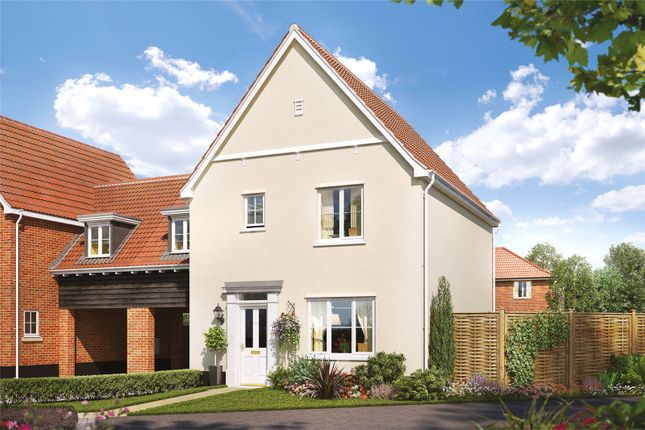 Thumbnail Link-detached house for sale in Plot 18 Heronsgate, Blofield, Norwich, Norfolk