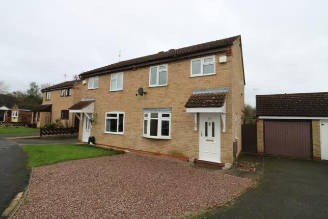3 bed semi-detached house for sale in Cobwells Close, Fleckney, Leicester, Leicestershire LE8