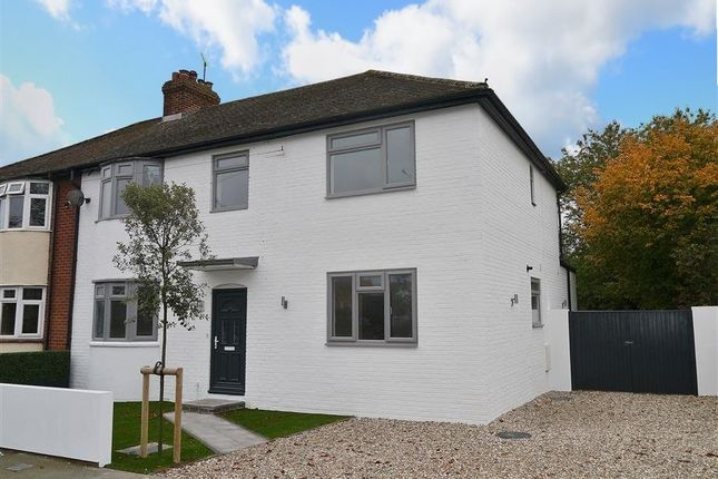 Thumbnail Semi-detached house to rent in Wootton Road, Abingdon-On-Thames