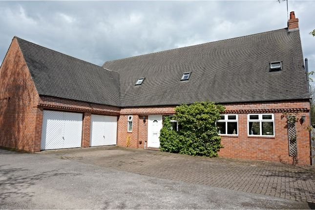Thumbnail Detached house for sale in Watery Lane, Scropton
