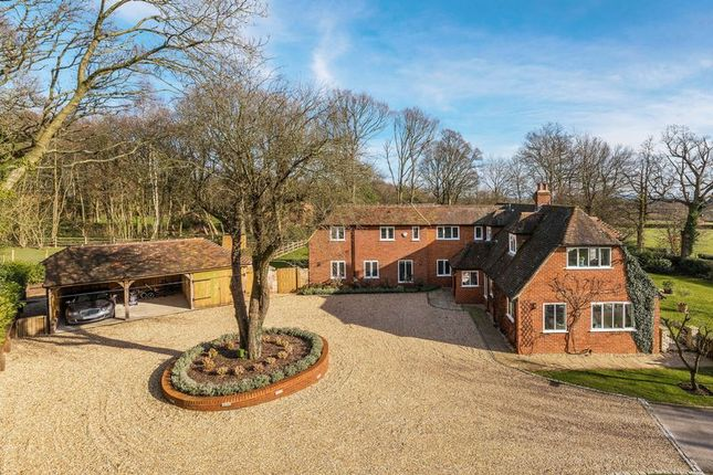 Thumbnail Country house for sale in Dippenhall, Farnham