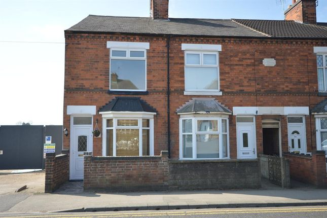 Thumbnail End terrace house to rent in Moat Street, Wigston