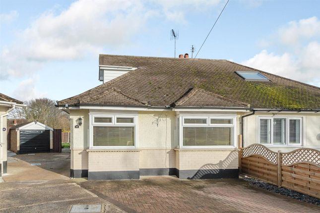 Thumbnail Bungalow for sale in Catherine Close, Pilgrims Hatch, Brentwood