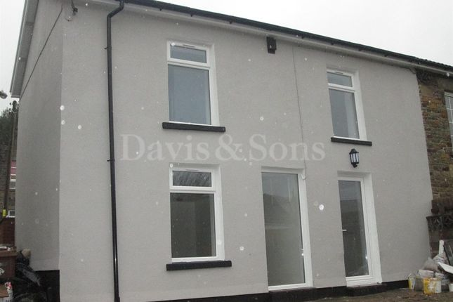 Thumbnail End terrace house for sale in Whitethorne Street, Crumlin, Newport.