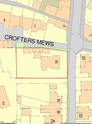 Thumbnail Land for sale in The Crofts, Witney