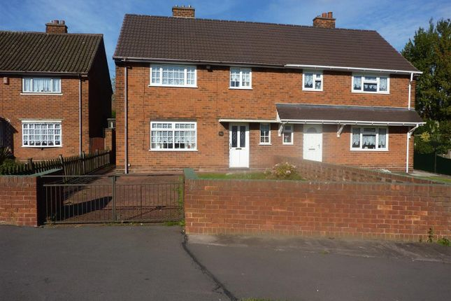 Thumbnail Semi-detached house to rent in Lavender Grove, Walsall
