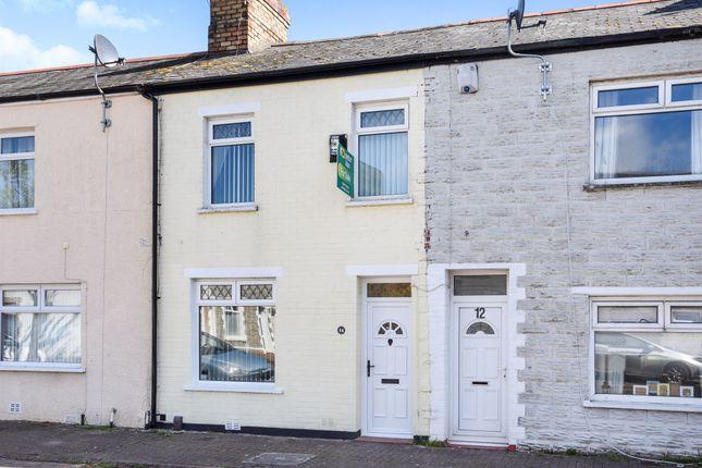 Thumbnail End terrace house for sale in Glebe Street, Barry