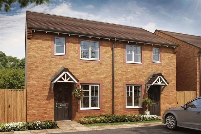Thumbnail Semi-detached house for sale in Plot 51, The Dadford, Meadowbrook, Durranhill, Carlisle