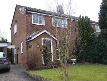 Thumbnail Semi-detached house to rent in Fallibroome Road, Macclesfield, Cheshire