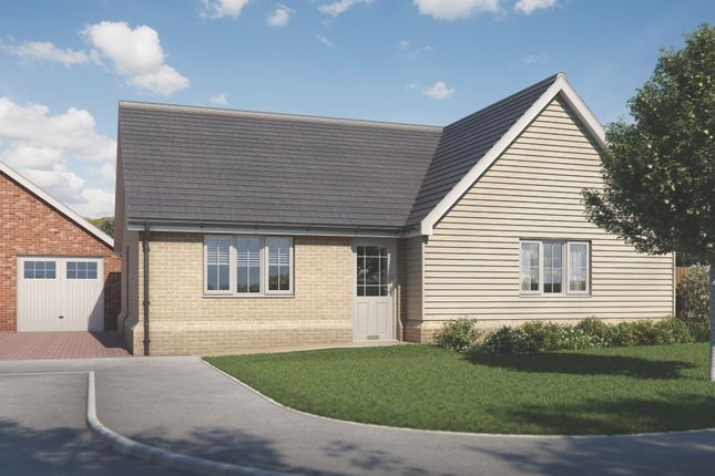 Thumbnail Bungalow for sale in Plot 5 Old Stables, Walton Road, Kirby-Le-Soken