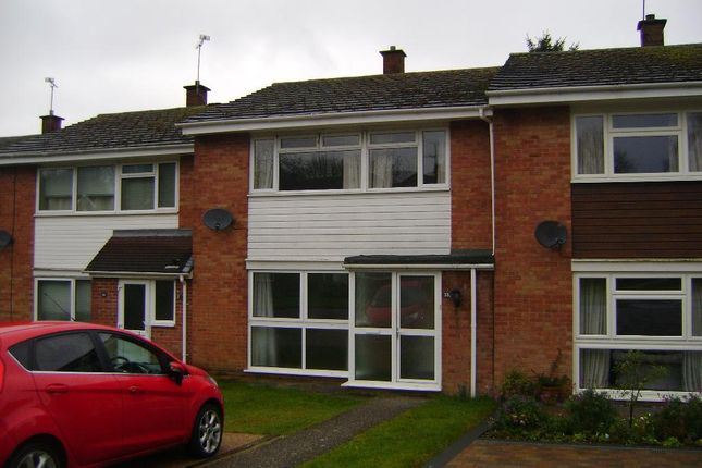Thumbnail Terraced house to rent in Hazelbank Close, Liphook