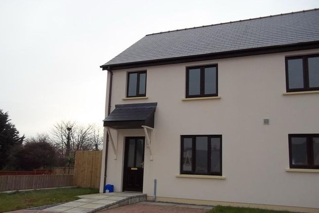 Thumbnail Semi-detached house to rent in Leven Close, Hook, Haverfordwest
