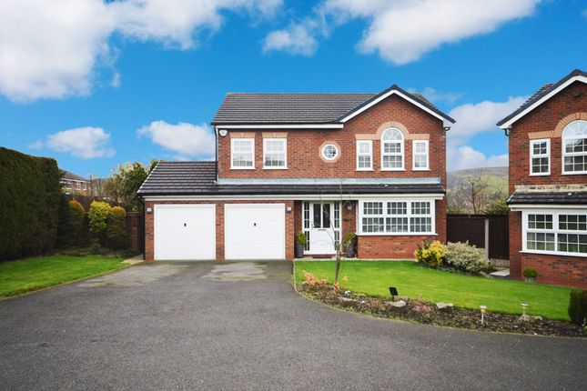 Thumbnail Detached house for sale in The Belfry, Chapter Road, Darwen