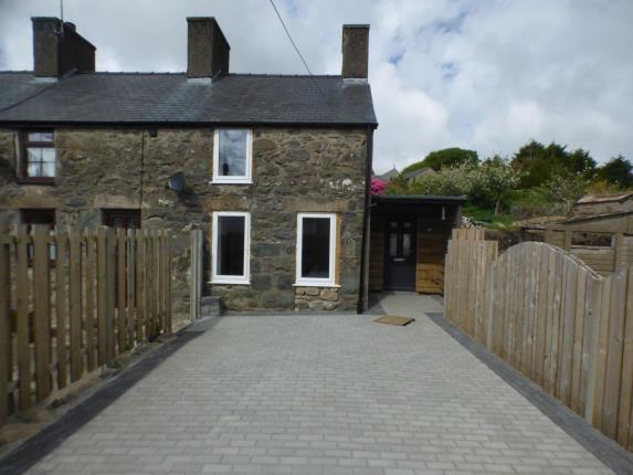 Thumbnail End terrace house for sale in Mount Pleasant Terrace, Llanaelhaern, Caernarfon, Gwynedd
