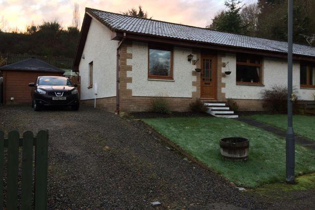 Thumbnail Semi-detached bungalow for sale in Braeface Park, Alness