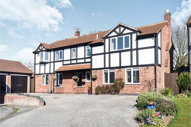 Thumbnail Detached house for sale in Clipstone Gardens, Oakwood, Derby