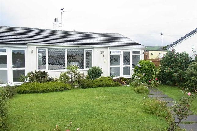 Thumbnail Terraced bungalow for sale in 7, Cantref, Tywyn, Gwynedd