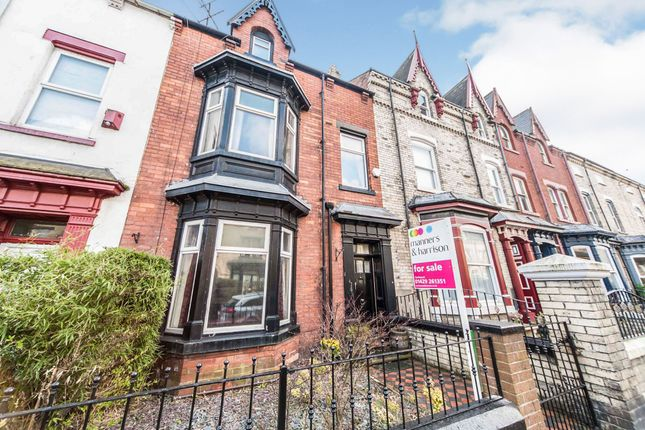 Thumbnail Terraced house for sale in Grange Road, Hartlepool