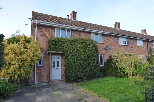 Thumbnail End terrace house for sale in Kempston, Beds