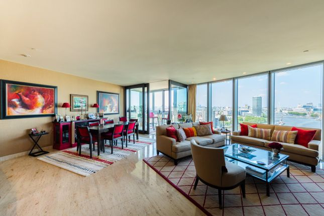 Thumbnail Flat for sale in The Tower, 1 St Georges Wharf, London