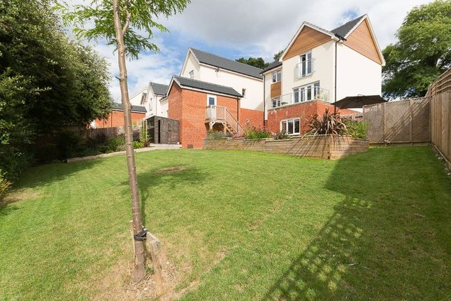 Thumbnail Detached house for sale in Fairpark Close, Chudleigh, Newton Abbot