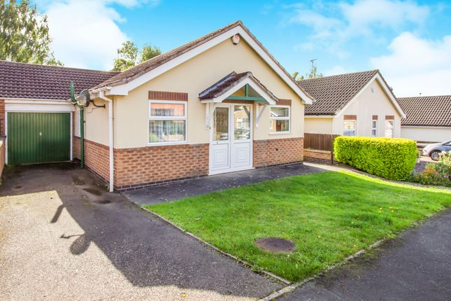 Thumbnail Detached bungalow for sale in Anthony Drive, Thurnby, Leicester