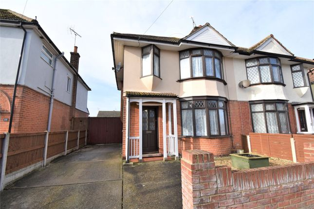 Semi-detached house for sale in Shaftesbury Avenue, Dovercourt, Harwich, Essex
