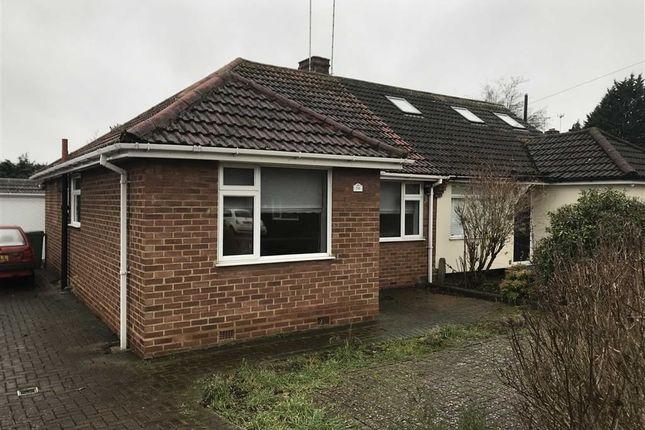 Thumbnail Semi-detached bungalow for sale in Foxlake Road, Byfleet, West Byfleet
