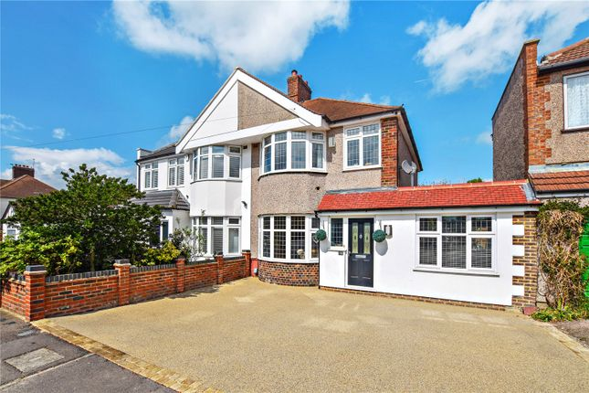 Thumbnail Semi-detached house for sale in Carisbrooke Avenue, Bexley, Kent