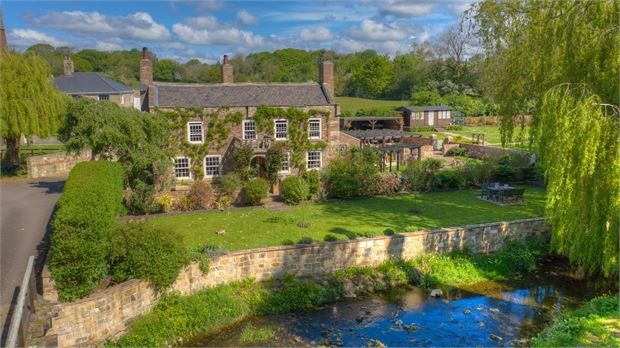 Thumbnail Detached house for sale in Bleach Green Farm Cottage, Ovingham, Northumberland.