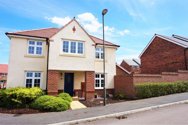 Thumbnail Detached house for sale in Ashford Way, Church Gresley, Swadlincote