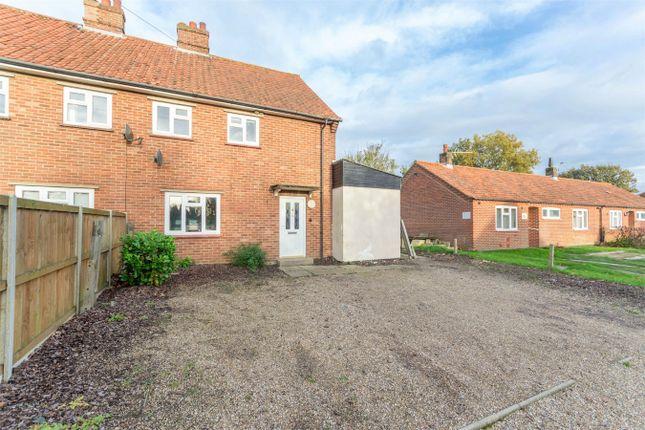 Thumbnail Semi-detached house for sale in Church Lane, Hindolveston, Dereham