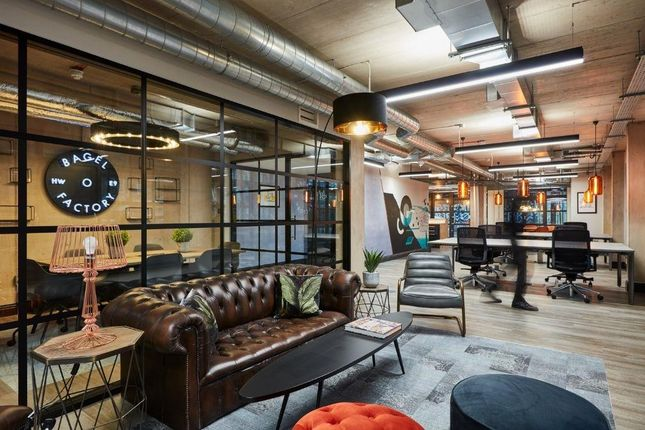 Office to let in The Bagel Factory East, Unit F, 52-54 White Post Lane, Hackney Wick, London