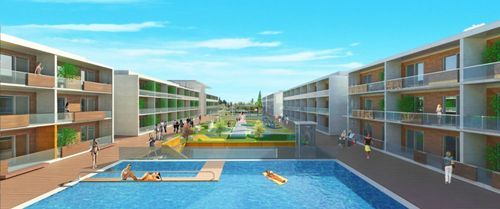 Thumbnail Apartment for sale in Kusadasi Spa Village & Resort, Davutlar, Kuşadası, Aydin City, Aydın, Aegean, Turkey