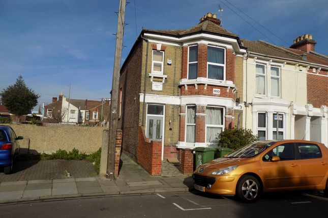 Thumbnail End terrace house to rent in Chetwynd Road, Southsea