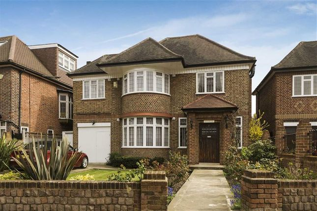 Thumbnail Detached house for sale in Manor House Drive, Brondesbury Park