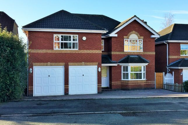 Thumbnail Detached house to rent in 10 Davenport Way, Newcastle-Under-Lyme, Staffordshire